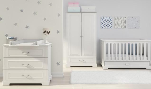 Bellamy Ines Elegant White - wyjątkowe meble do dziecięcego pokoju